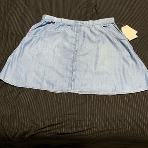 Jolt Denim Skirt